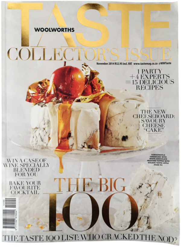 TASTE 100th issue