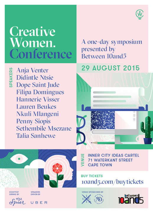 Between 10and5 Creative Women Conference