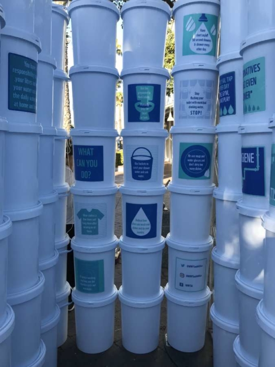 WWF Water Bucket Installation