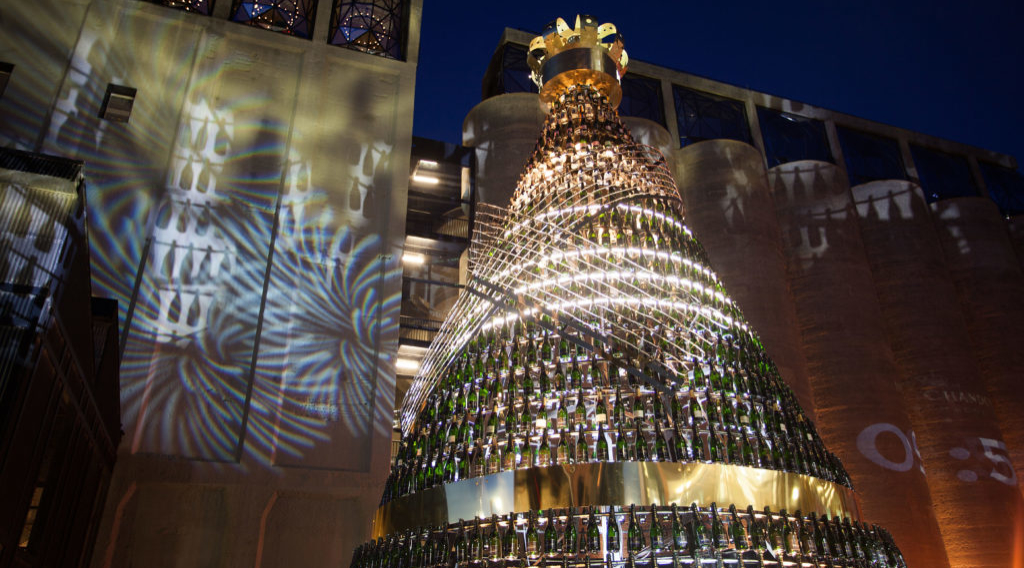 The Moët & Chandon Christmas Tree 2017