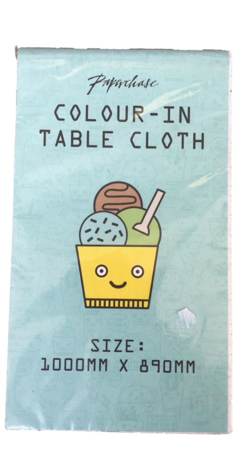 Colour in table cloth