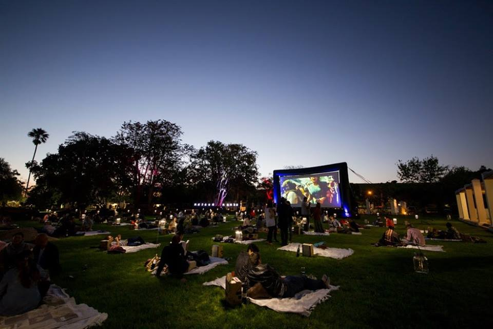 Food Movie Night at the Secret Festival 2015