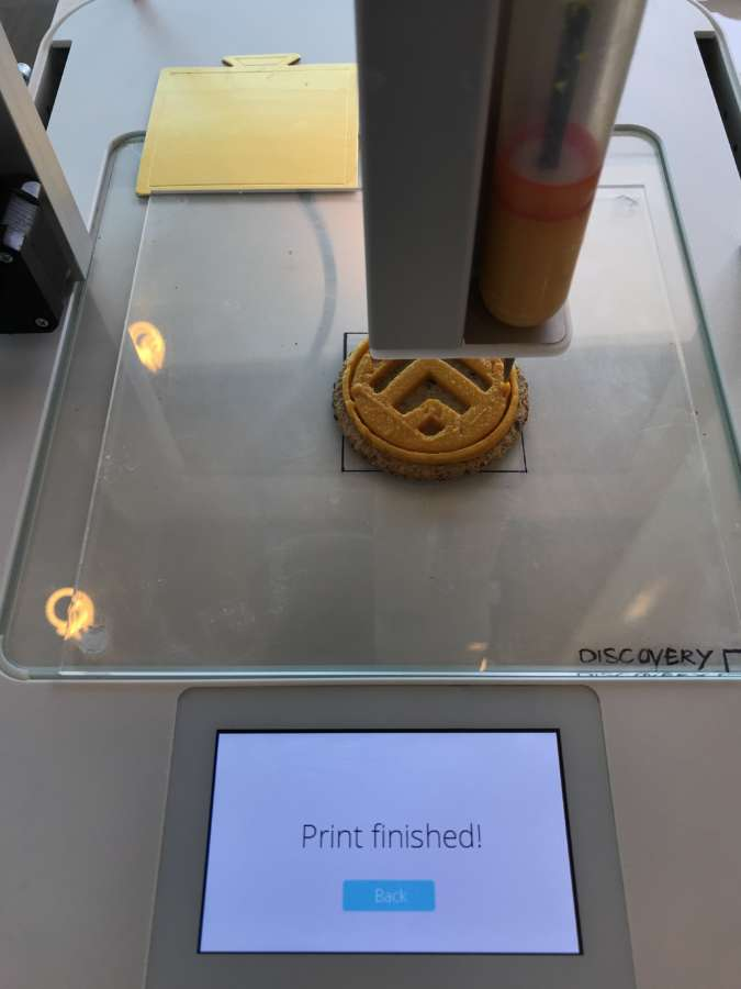 3D food printing for Discovery Vitality